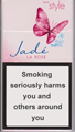 Style Jade Super Slims Rose Cigarettes