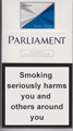 Parliament Super Slims Silver Cigarettes