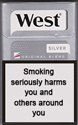 West Silver Cigarettes