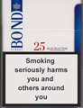 Bond Street Blue Selection 25 Cigarettes