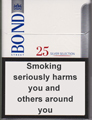 Bond Street Silver Selection 25 Cigarettes