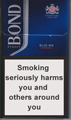 Bond Street Smart Blue 6 Cigarettes