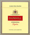 Dunhill International Lights Cigarettes