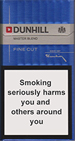 Dunhill Dark Blue (Master Blend) Cigarettes