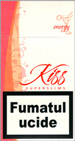 Kiss Super Slims Energy 100's Cigarettes