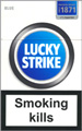 Lucky Strike Lights (Blue) Cigarettes