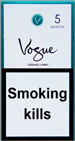 Vogue Super Slims Menthol 100s Cigarettes