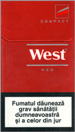 West Red Compact Cigarettes