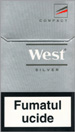 West Silver Compact Cigarettes